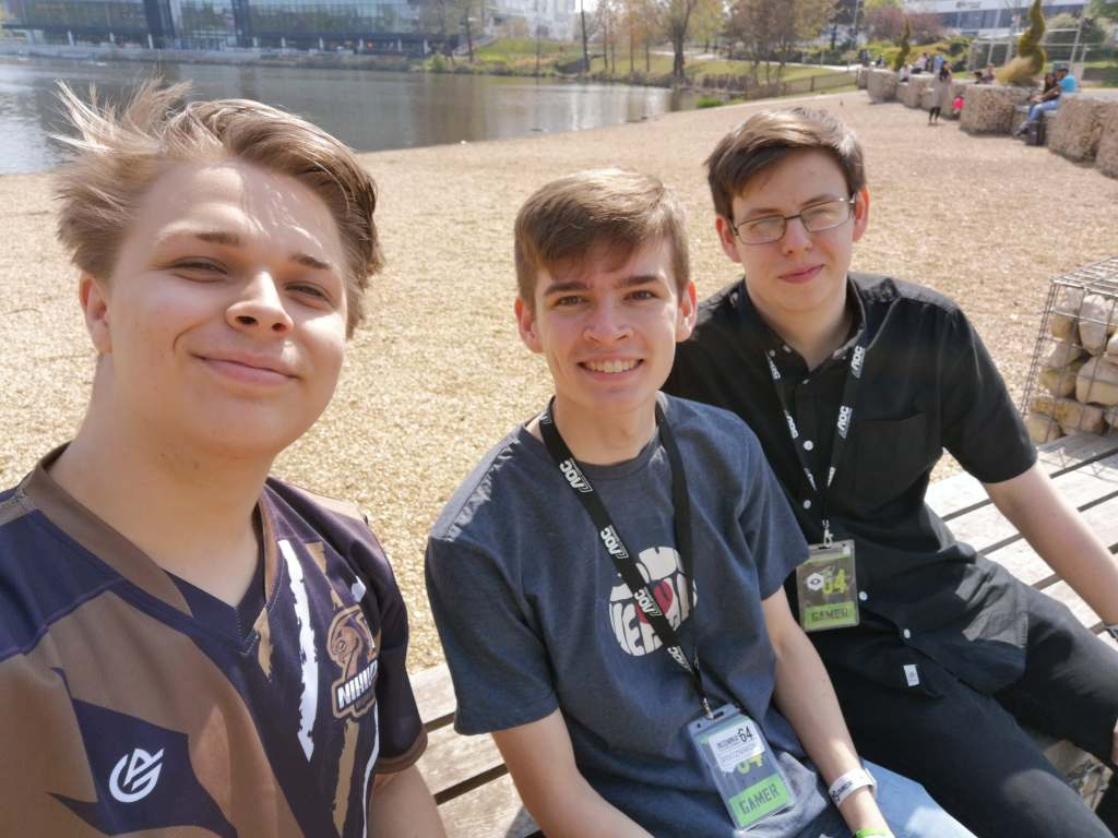 Photo of boys at I64
